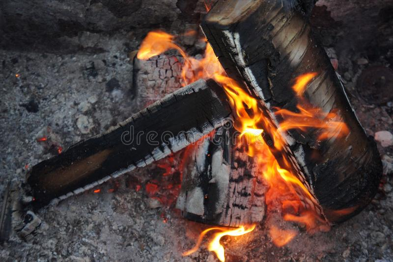 campfire stock fotografie
