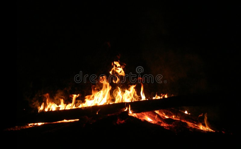 Download Campfire stock photo. Image of furnace, glow, hellfire - 969958