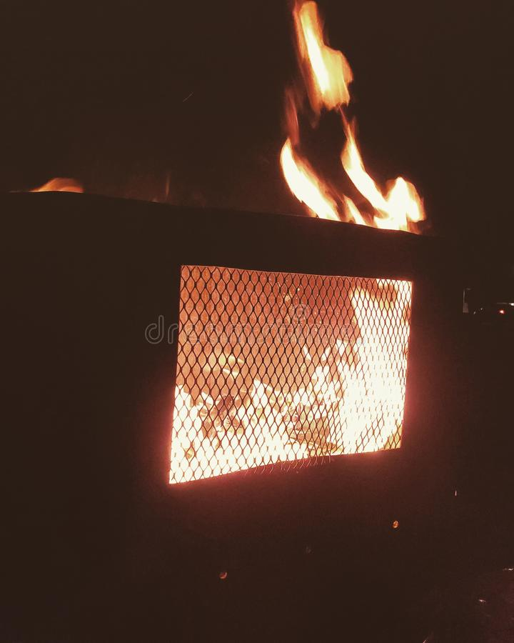 Campfire foto de stock royalty free