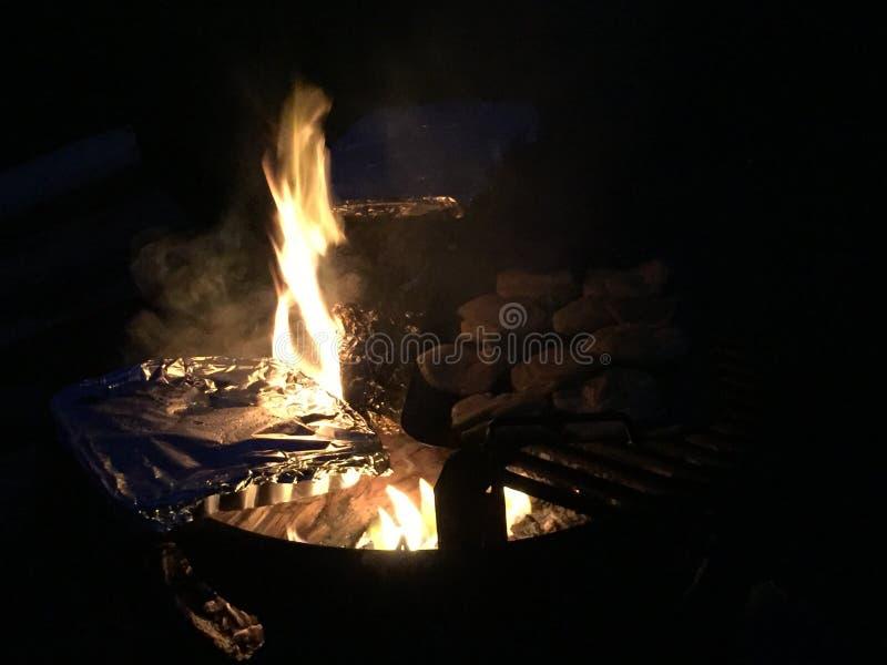 campfires στοκ φωτογραφία με δικαίωμα ελεύθερης χρήσης