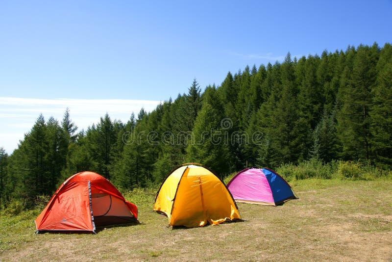 Campground fotos de stock