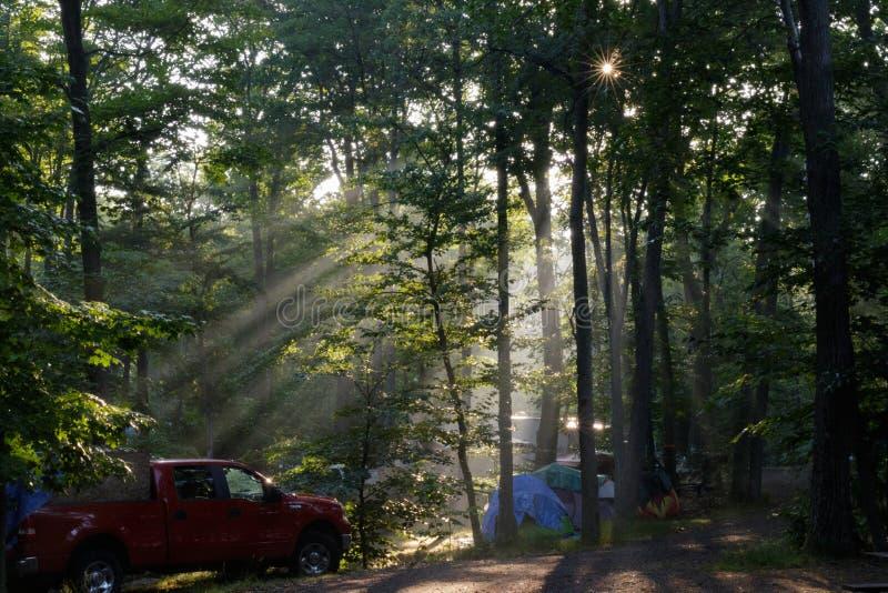 campground photos stock