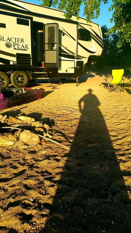 campground fotografia stock