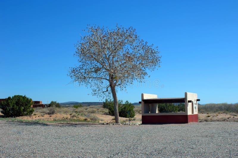 Campground do monumento do estado de Coranodo fotos de stock