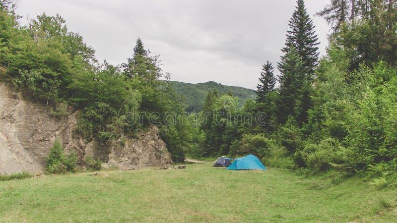 campgrounds imagens de stock