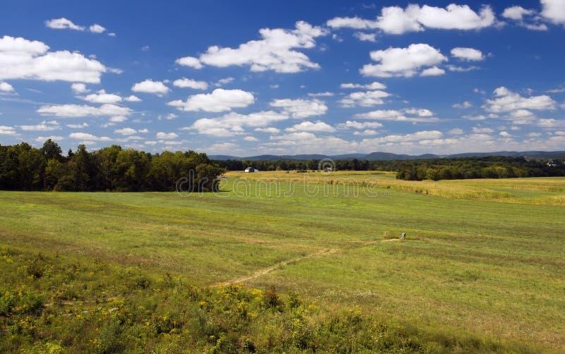 Campi di Gettysbury Pensilvania fotografia stock libera da diritti