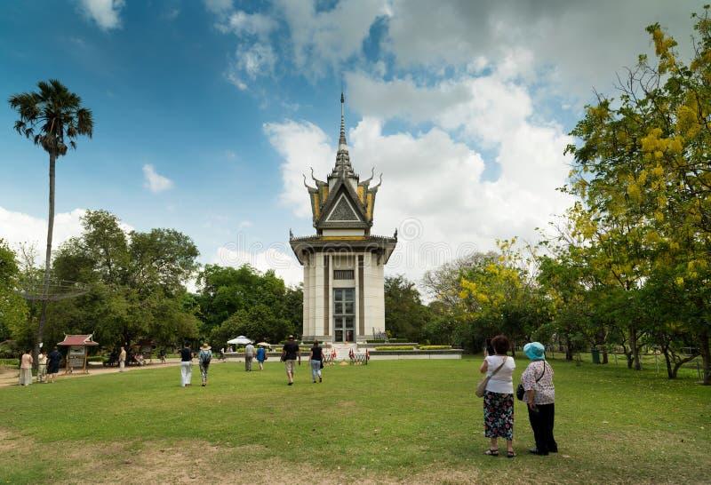 Campi di uccisione - Cambogia immagini stock