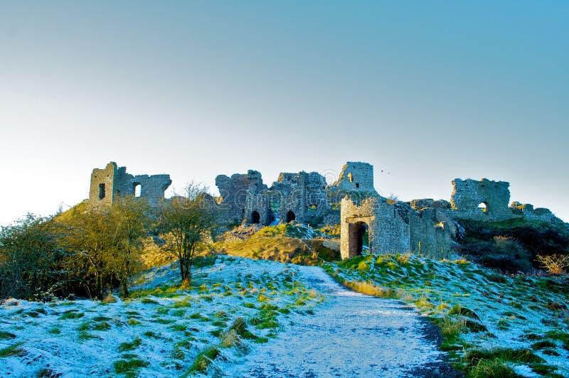 Campi verdi dell'Irlanda fotografia stock