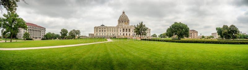 Campidoglio del Minnesota che costruisce Saint Paul immagini stock libere da diritti