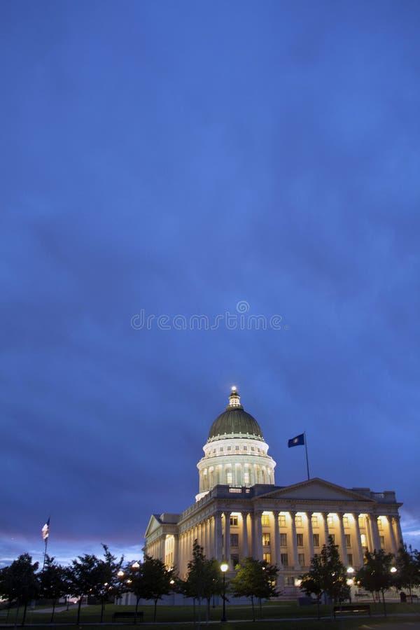 Campidoglio dell'Utah a Salt Lake City Utah fotografia stock