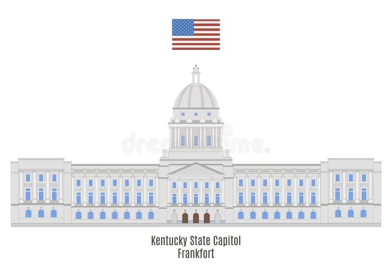 Campidoglio dello stato del Kentucky, frankfurter royalty illustrazione gratis