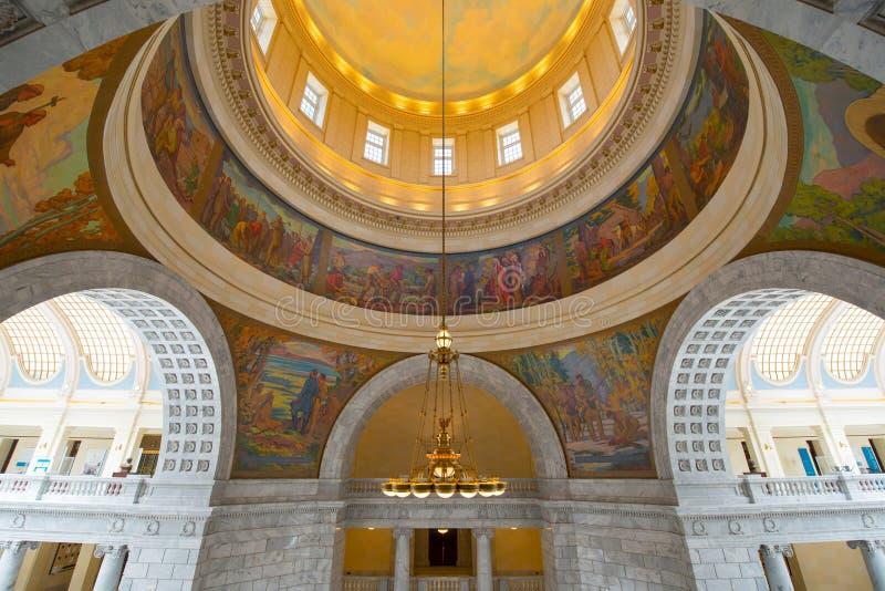 Campidoglio dello stato dell'Utah, Salt Lake City, U.S.A. fotografia stock