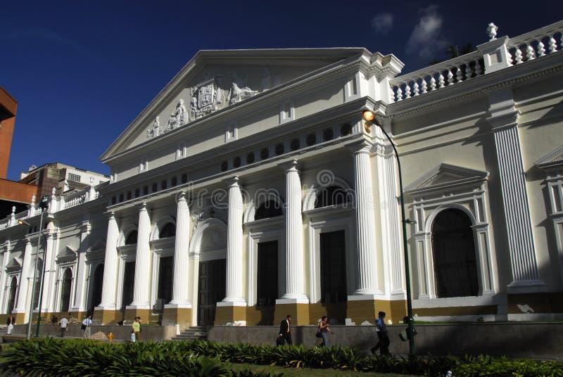 Campidoglio nazionale nel centro di Caracas fotografia stock