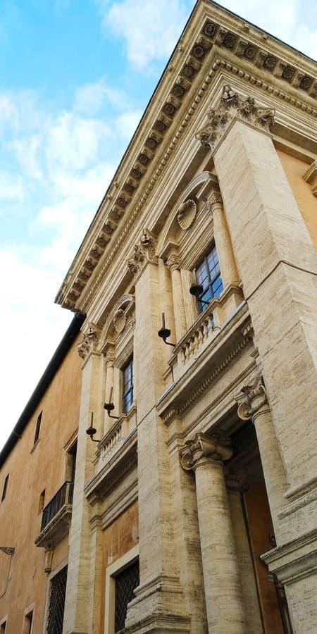 Campidoglio in Piazza di Campidoglio, Roma, Italia fotografia stock