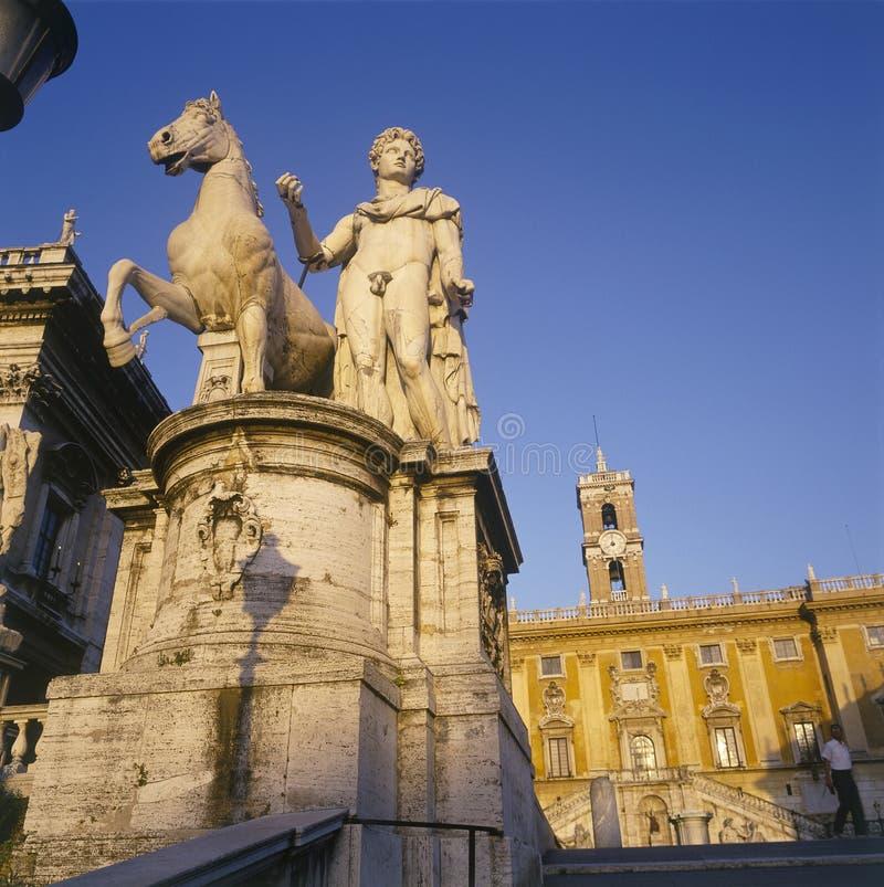 campidoglio Rzymu obraz royalty free