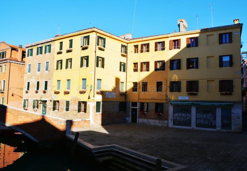 Campiello s Agostin, Венеция, Италия стоковое фото
