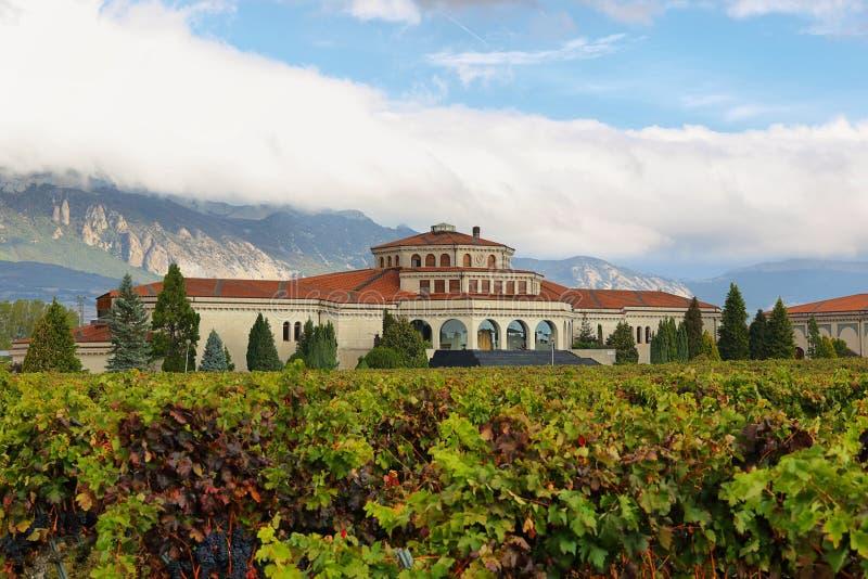 Campillo wina loch jest jeden renomowany i duzi lochy w losie angeles Rioja obrazy royalty free