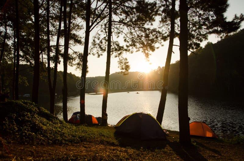 camping fotografía de archivo