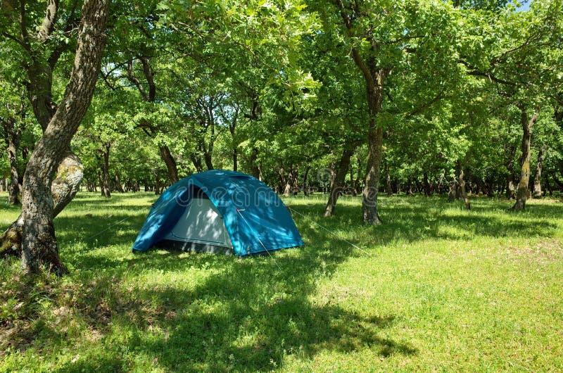 Camping photo stock