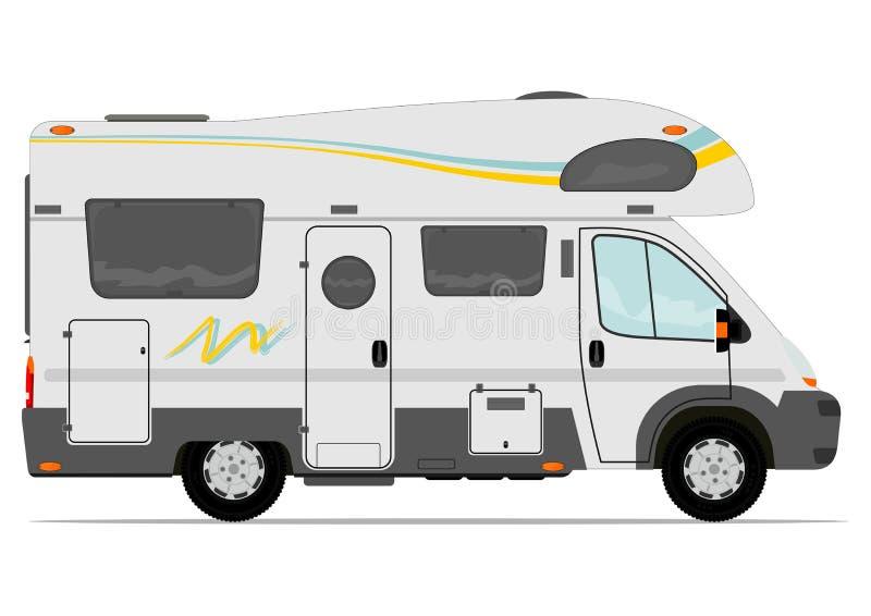 Camping-car illustration de vecteur