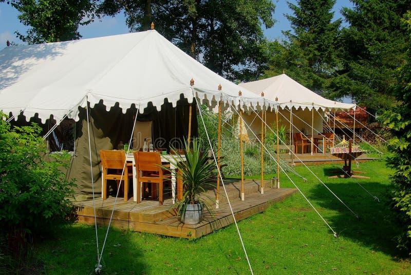 Camping de luxe photos stock