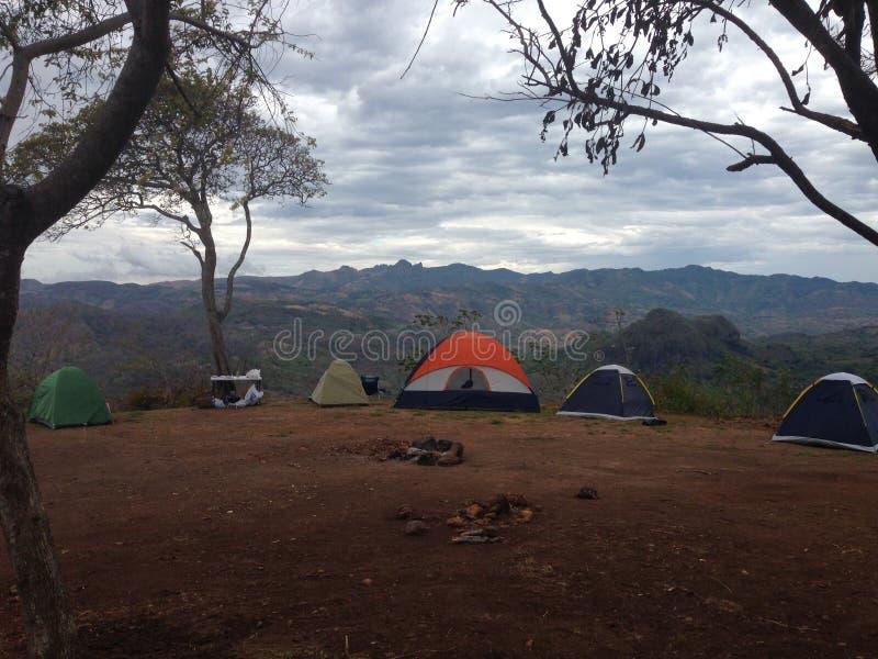 Camping en Campana foto de archivo
