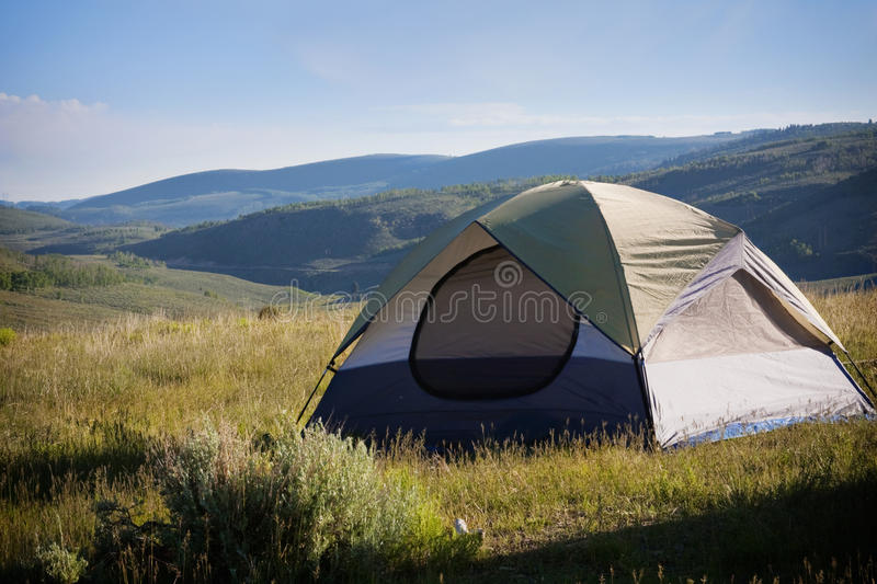 Download Camping in the mountains stock photo. Image of outdoors - 12722988