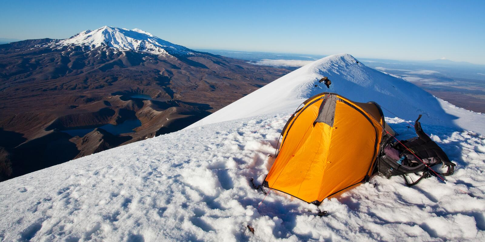 Download Camping in the mountains stock photo. Image of zealand - 31966212