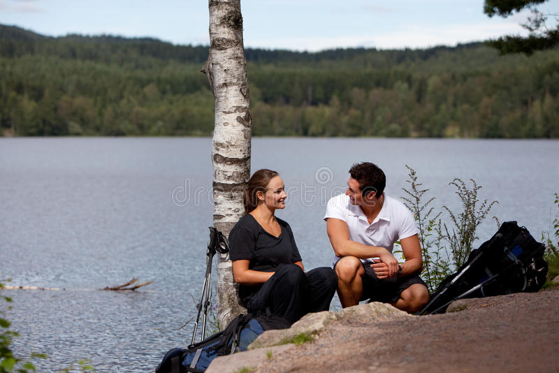 Download Camping Rest stock photo. Image of happy, active, healthy - 10610682