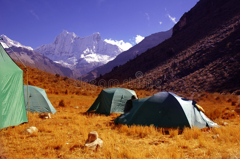Download Camping Site Royalty Free Stock Photo - Image: 2907455