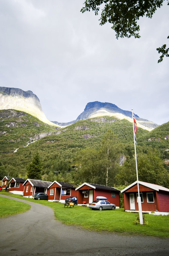 Free Camping Site, Norway Royalty Free Stock Images - 2999639