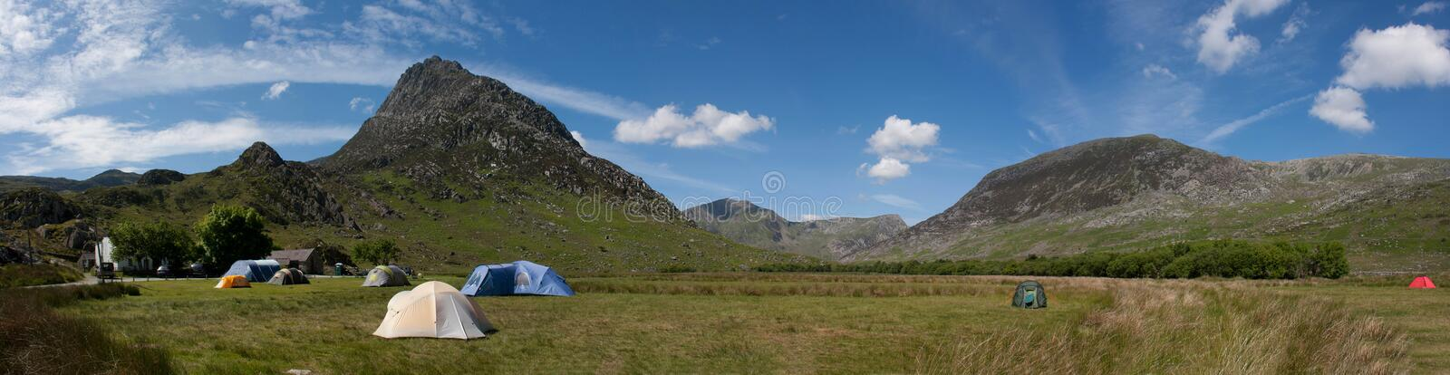 Download Camping in Snowdonia stock photo. Image of tryfan, landscape - 14853698