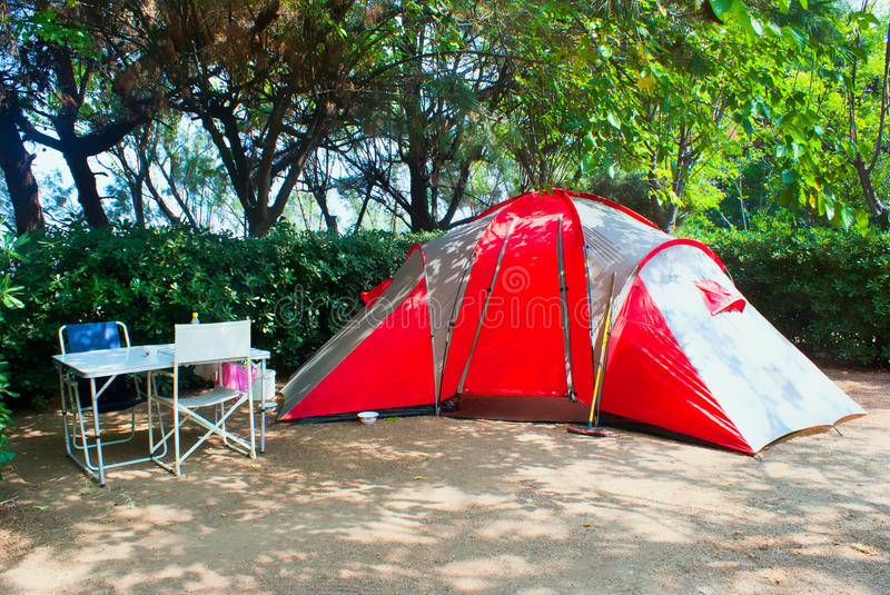 Download Camping tent stock image. Image of adventure, sports - 21237057