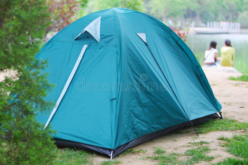 Download Camping Tent Stock Photo - Image: 24210820
