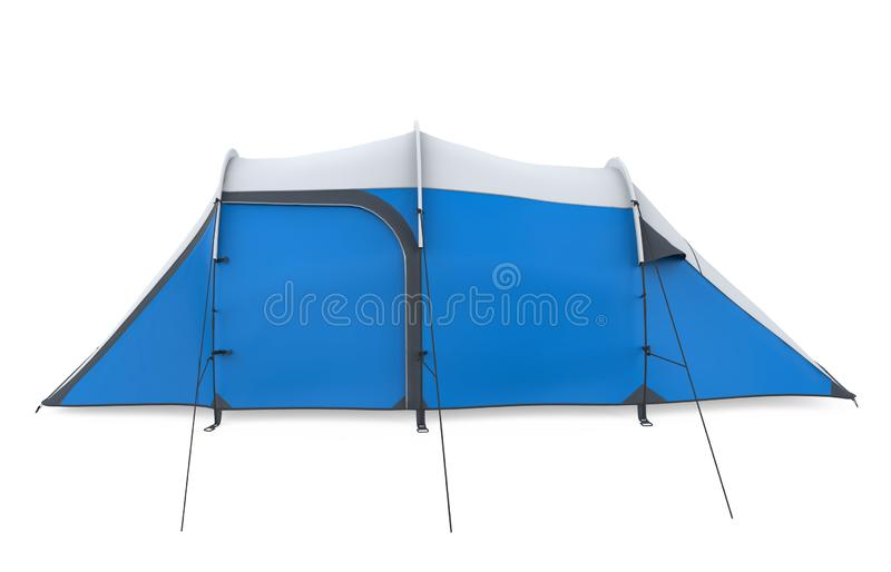 Camping Tent Isolated stock image