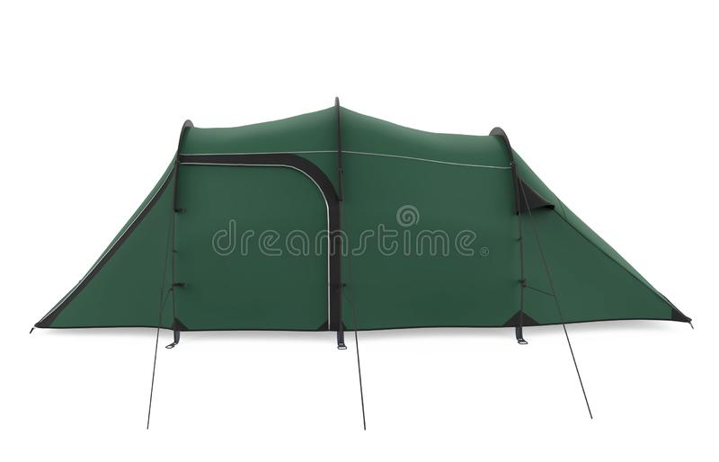 Camping Tent Isolated stock images