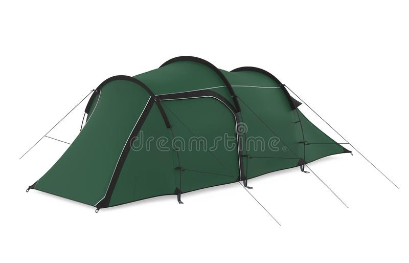 Camping Tent Isolated royalty free stock photography