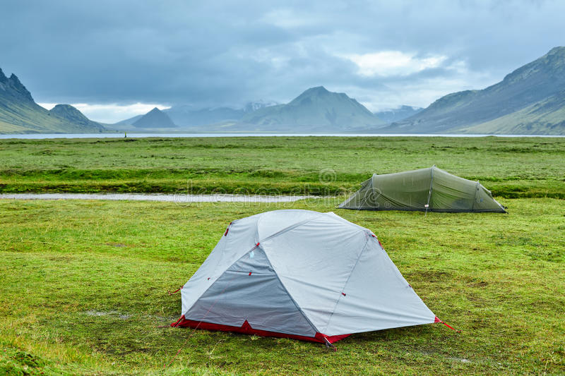 Download C&ing And Tents In Iceland Stock Photo - Image of hill color 80938854 & Camping And Tents In Iceland Stock Photo - Image of hill color ...