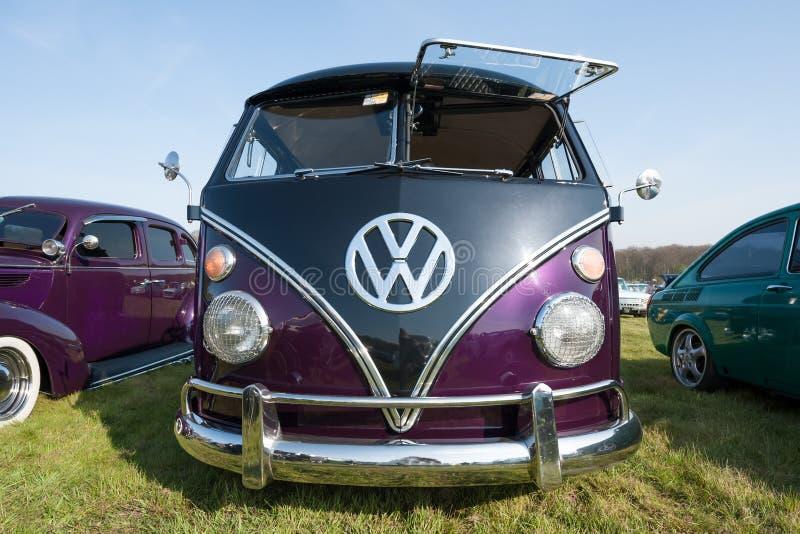 Camping Volkswagen image libre de droits