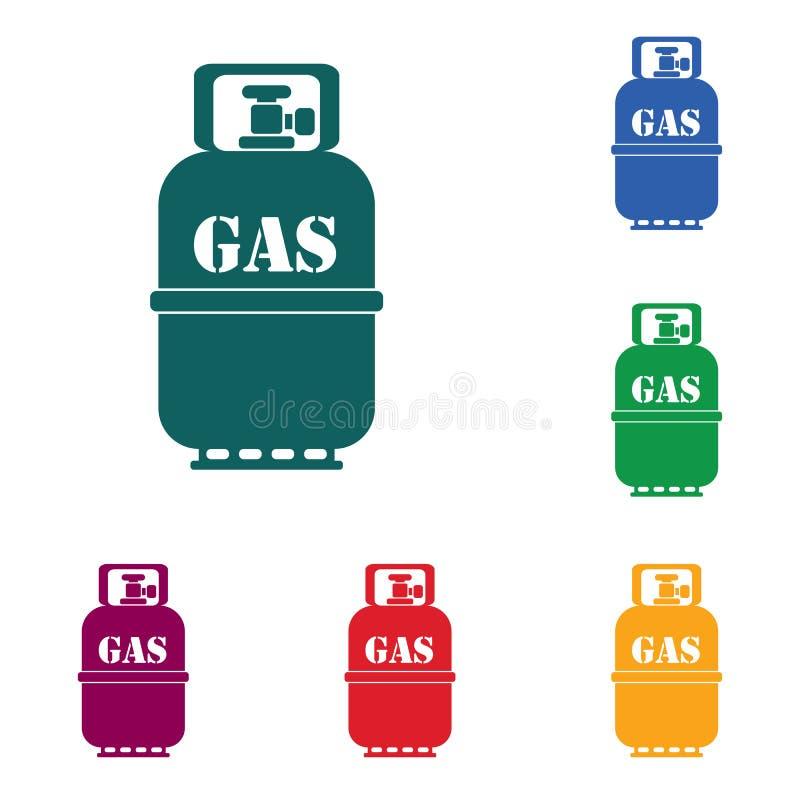 Download Campingowa Benzynowej Butelki Ikona Ilustracja Wektor - Ilustracja złożonej z odosobniony, element: 106915993
