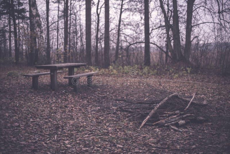 campingowy i odpoczynkowy teren rzeką z - fotografia royalty free
