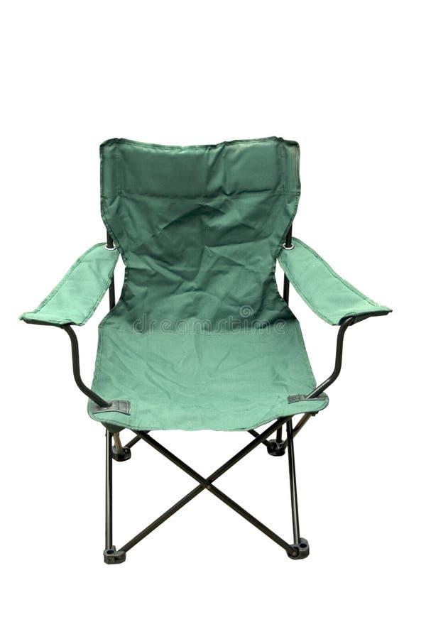 campingowy składane krzesła zdjęcie stock