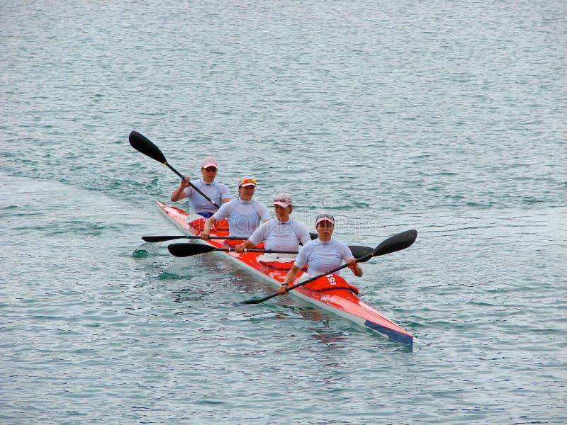 Campionati 2008 dell'europeo di Flatwater fotografia stock