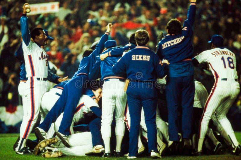 86 campionati di baseball di celebrazione fotografie stock libere da diritti