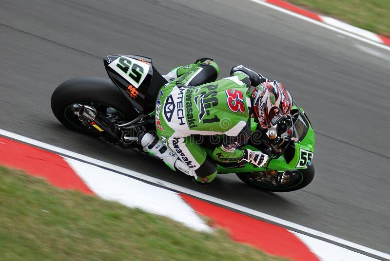 Campionato 2008 del mondo di Superbike fotografia stock libera da diritti