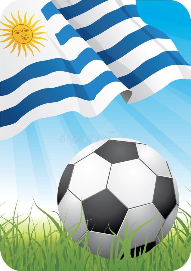 Campionato 2010 di calcio del mondo - l'Uruguai fotografia stock libera da diritti