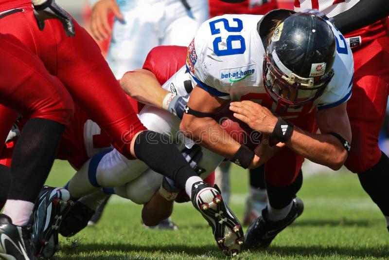 Campionato B-Europeo 2009 di football americano fotografie stock