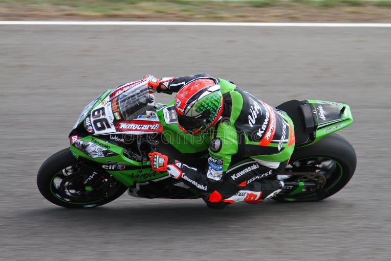 Campionato del Superbike del mondo immagini stock libere da diritti