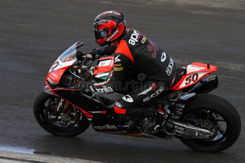 Campionato del Superbike del mondo immagine stock libera da diritti