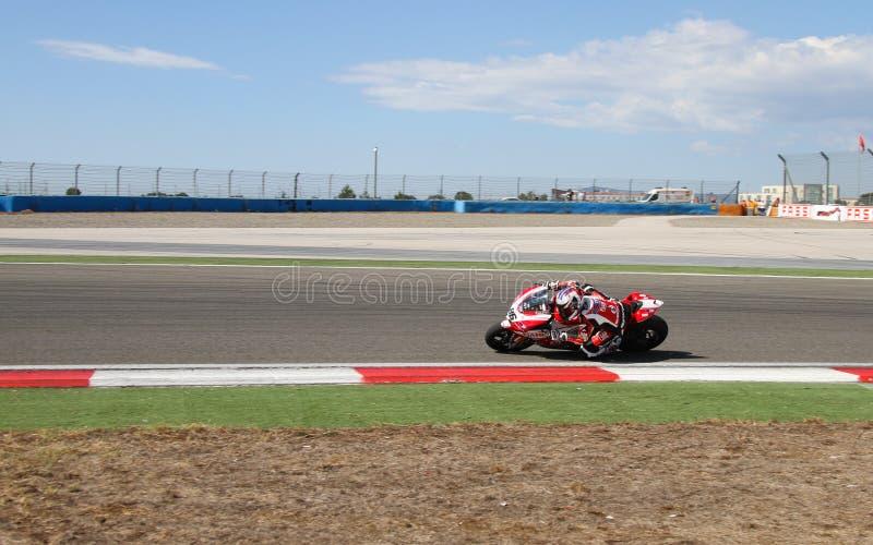 Campionato del Superbike del mondo immagini stock